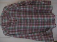 M & S PER UNA COTTON SHIRT / BLOUSE - SIZE 20 - (Kirkby in Ashfield)