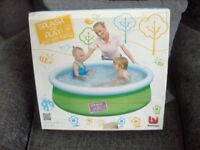bestway splash and play 5ft x 15 in fast set pool brand new in box