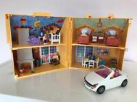 Playmobil portable house & car