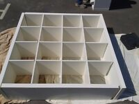 Ikea Expedit 4x4 white.