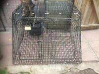 Barnesbrook Double Dog Car Cage