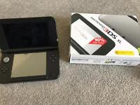 Nintendo DS XL - silver - with box