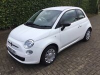 2010 (60) Fiat 500 1.2 Pop. Low Mileage. Immaculate Condition.
