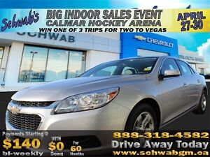 2014 Chevrolet Malibu LT, ECO, Bluetooth, Touch Screen, Remote K