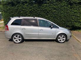 Vauxhall zafira 1.9 cdti Sri 150 bhp