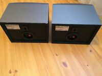 SONY HOME CINEMA SURROUND SPEAKERS, 16 Ohms, FULLY WORKING, CLEAR SOUND, EXCELLENT CONDITION.