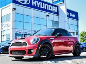 2013 MINI Coupe JOHN COOPER WORKS PKG|MANUAL|LEATHER