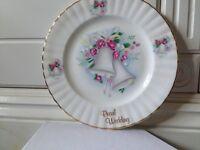 Pearl Wedding Bone China Plate