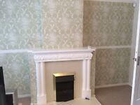 £55 PER FEATURE WALLPAPER FITTING***24 HOUR CALL OUT SERVICE*** FEATURE WALLS DECORATOR