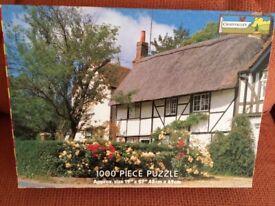 Oxfordshire Cottage (1,000pc) Jigsaw