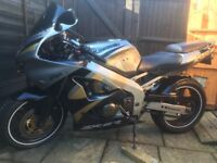 Kawasaki ZX6R very good condition, I may swap for a more upright bike