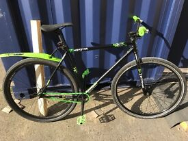 Custom fixie 'bombtrack' monster jump bike