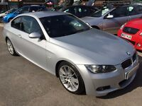 2007/07 BMW 3 SERIES 2.5 325i M SPORT AUTOMATIC 2 DOOR IN STUNNING CONDITION,SERVICE HISTORY