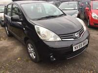 2010 nissan note 1.4 acenta pure drive cruise control bluetooth cheap tax n insurance rare 1.4 barg