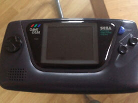 GAME GEAR RECAPPED CONSOLE