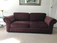 Sofa / FREE! / Burgundy / Three-seater