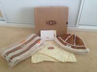 Brand New Ugg Style Hat & Scarf Set
