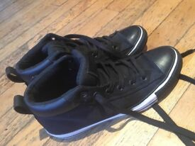 Black Converse Boots UK size 8
