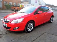 2013 VAUXHALL ASTRA EXCLUSIV 1.3CDTI 48463 milage service history