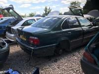 2001 BMW 520I SE Green 2.0 Petrol Manual Breaking for Spares Parts