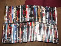 450 dvds job lot all cased with covers. Ideal boot sale or market trader
