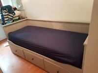 IKEA - bed with 3 drawers - Multi function/ single to double bed
