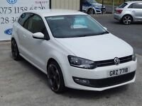 NOV 2013 VOLKSWAGEN POLO 1.2 MATCH EDITION 3DR ( FINANCE & WARRANTY AVAILABLE)