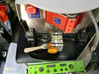 Car key laser cutting machine nearly new with all accessories