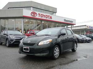 2013 Toyota Matrix Convience Package