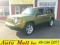 2012 Jeep Patriot North Edition 4WD - Like New!