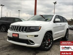 2016 Jeep Grand Cherokee SRT**SUNROOF**NAV**BLIND SPOT MONITORIN