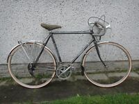 Falcon Westminster retro vintage racer road bike 700 wheels, 23 inch Reynolds 531 frame 10 gears