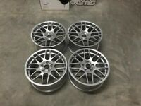 "19"" Inch BMW CSL style wheels E90 E92 E93 F10 F11 F30 F31 F32 F36 F20 1 3 4 5 series 5x120"