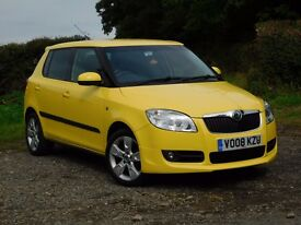 Skoda Fabia 1.6 Sport 16 Valve, 12months Warrenty, Low Mileage, Full Service History, MOT to 03/18