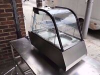 COMMERCIAL CATERING VERY NEW HEATED FOOD WARMER / DISPLAY CABINET CUISINE DINING RESTAURANT CAFE BAR