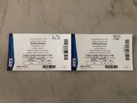 Rolling Stones and Florence and the machine tickets for tomorrow