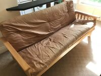 Sofa Bed with very quick set up.