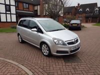 2006 Vauxhall Zafira 1.6 petrol in excellent condition low mileage 7 seater