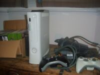 xbox 360 - 8gb - around 20 games - 2 controllers - HDMI cable