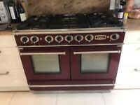 Falcon continental dual fuel oven and 5 gas burner