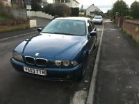 2001 bmw 5 series automatic