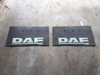 Daf front mud flaps £10