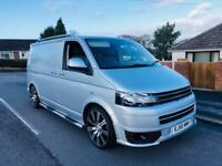 VOLKSWAGEN TRANSPORTER T5 130 T30 2.5 TDI DIESEL SWB FACE LIFT NO VAT LONG MOT READY TO DRIVE AWAY