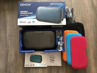 Denon Envaya Premium Bluetooth Speaker & Case. As New
