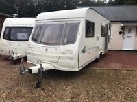 2005 model 6 berth Avondale dart with blow up awning