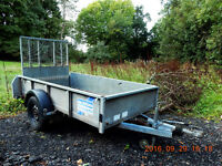 Ifor Williams GD84 Trailer with Ramp Single Axle GD 8 x 4