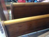 Bed Frame Wooden Superking