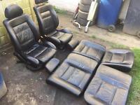 Vw golf mk 3 vr6 leather seats