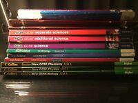 GCSE Science Books ( Biology, Chemistry and Physics )