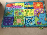 Large colourful play mat